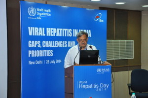 World Hepatitis Day celebration on 28th Jul 2014